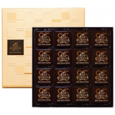 Godiva Dark Chocolate Carre 85%