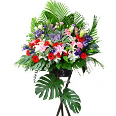 Flower arrangement for Grand Opening